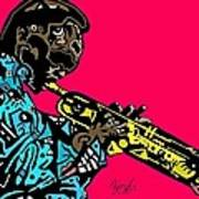 Miles Davis Full Color Art Print