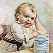 Milk Trade Card, 1893 Art Print