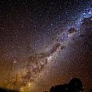 Milky Way Down Under Art Print by Charles Warren