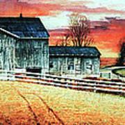 Mill Creek Farm Art Print