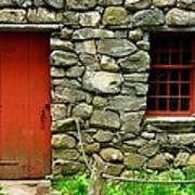Mill Door And Window Art Print