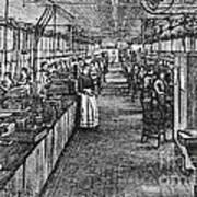Mill Industry Art Print