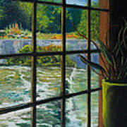 Mill With A View Art Print by Peter Jackson