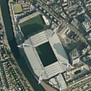 Millennium Stadium, Cardiff,aerial View Art Print