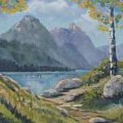 Mills Lake Art Print