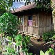 Minahasa Traditional Home 1 Art Print