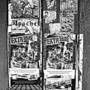Minahasa Village Signage Bw Art Print