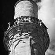 minaret of the 16th century Grand Mosque or Djami Kebir in Larnaca Republic of Cyprus Art Print