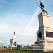 Minnesota Monument At Gettysburg Art Print