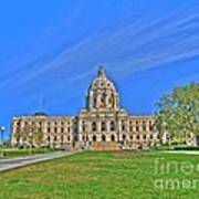 Minnesota State Capital Iv Art Print
