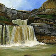 Mirusha Falls In Kosovo Art Print