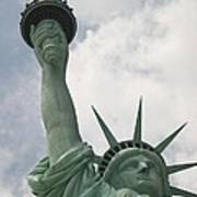 Miss Statue Of Liberty Art Print