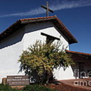 Mission Francisco Solano - Downtown Sonoma California - 5d19298 Art Print by Wingsdomain Art and Photography