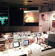 Mission Operations Control Room - Art Print by Everett
