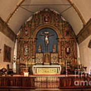Mission San Carlos Borromeo De Carmelo  11 Art Print