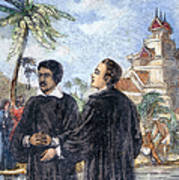Missionaries: Baptism Art Print