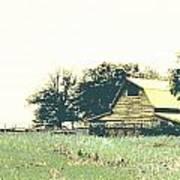 Mississippi Farm Old Highway 61  Art Print