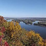 Mississippi River Fall Art Print