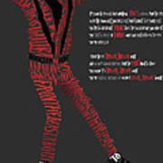 Mj_typography Art Print