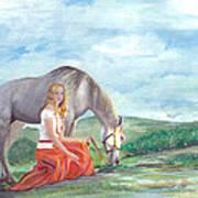 Modern Ayla Art Print