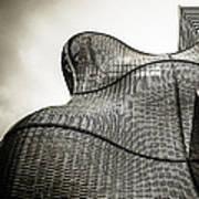 Modern Basket Weaving In London Art Print