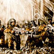 Modern Battle Field Art Print