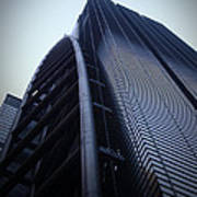 Modern Building In Tokyo Art Print by Naxart Studio