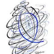 Modern Drawing 111 Art Print