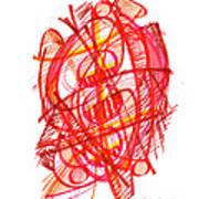 Modern Drawing 113 Art Print