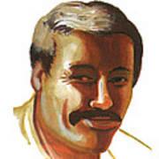 Mohammed Lakhdar Hamina Art Print