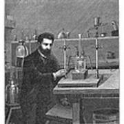 Moissan Isolating Fluorine, 1886 Art Print