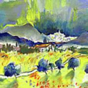 Mojacar In Spain 01 Art Print