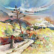 Mojacar In Spain 02 Art Print