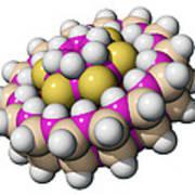 Molecular Bearing, Computer Model Art Print