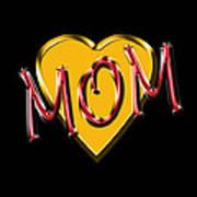 Mom 2 Art Print