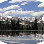 Monarch Pass Lake Art Print