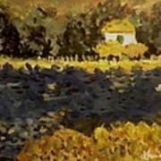 Monet House Art Print
