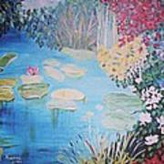 Monet Style By Alanna Art Print by Alanna Hug-McAnnally