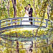 Monet Wedding Art Print