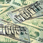Money Wealth And Success Art Print