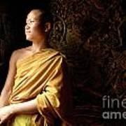 Monk Alex Laos Art Print
