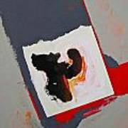 Monkey Strong Arm Tactics Art Print
