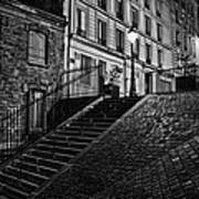 Montmartre After Dark Art Print