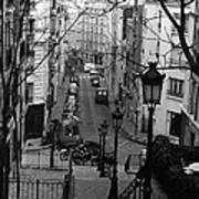 Monmatre Paris France Art Print