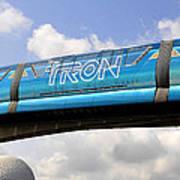 Mono Tron Art Print