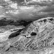 Monochrome Landscape Project 2 Art Print