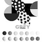 Monochrome Pheonix Art Print