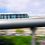 Monorail Carriage Art Print