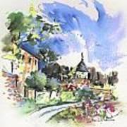 Monpazier In France 01 Art Print