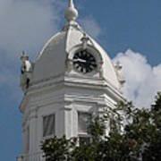 Monroeville Courthouse Clock Art Print